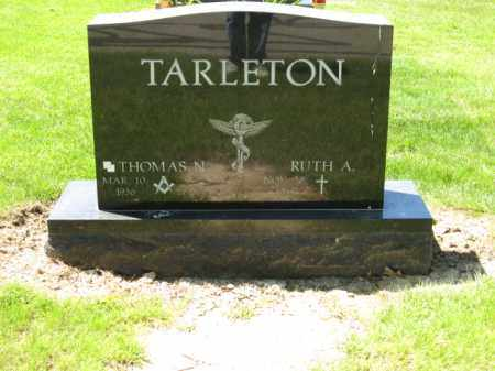 TARLETON, RUTH A. - Union County, Ohio | RUTH A. TARLETON - Ohio Gravestone Photos