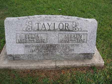 TAYLOR, ELIDA - Union County, Ohio | ELIDA TAYLOR - Ohio Gravestone Photos