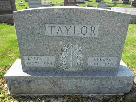 TAYLOR, EUGENE - Union County, Ohio | EUGENE TAYLOR - Ohio Gravestone Photos