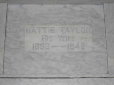 TAYLOR, HATTIE - Union County, Ohio | HATTIE TAYLOR - Ohio Gravestone Photos