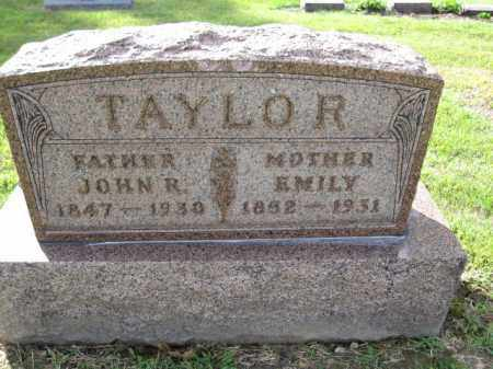 TAYLOR, JOHN R. - Union County, Ohio | JOHN R. TAYLOR - Ohio Gravestone Photos
