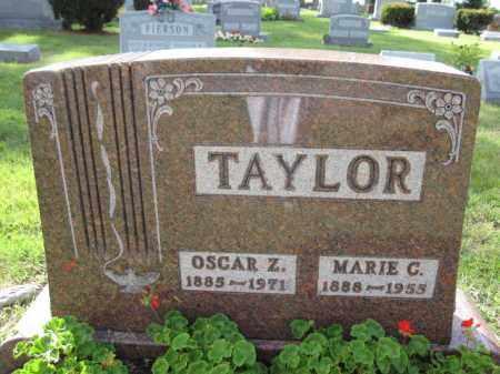 TAYLOR, OSCAR Z. - Union County, Ohio | OSCAR Z. TAYLOR - Ohio Gravestone Photos