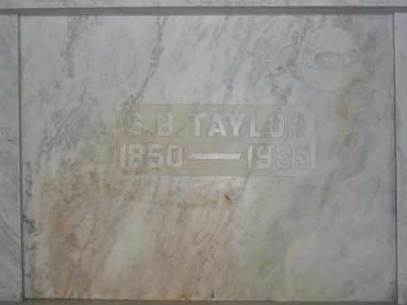 TAYLOR, SAMUEL B. - Union County, Ohio | SAMUEL B. TAYLOR - Ohio Gravestone Photos