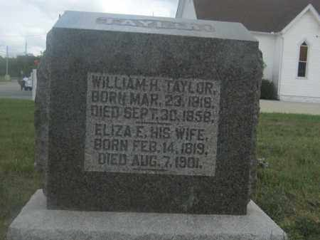 TAYLOR, WILLIAM H. - Union County, Ohio | WILLIAM H. TAYLOR - Ohio Gravestone Photos