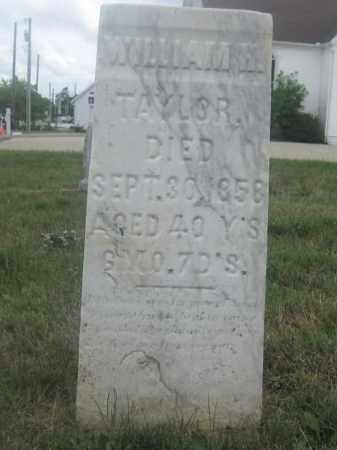 TAYLOR, WILLIAM M. - Union County, Ohio   WILLIAM M. TAYLOR - Ohio Gravestone Photos