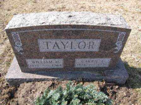 TAYLOR, CARRIE E. - Union County, Ohio | CARRIE E. TAYLOR - Ohio Gravestone Photos