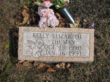 THOMAN, KELLY ELIZABETH - Union County, Ohio | KELLY ELIZABETH THOMAN - Ohio Gravestone Photos