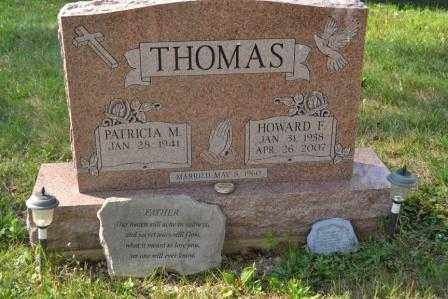 THOMAS, PATRICIA M. - Union County, Ohio | PATRICIA M. THOMAS - Ohio Gravestone Photos