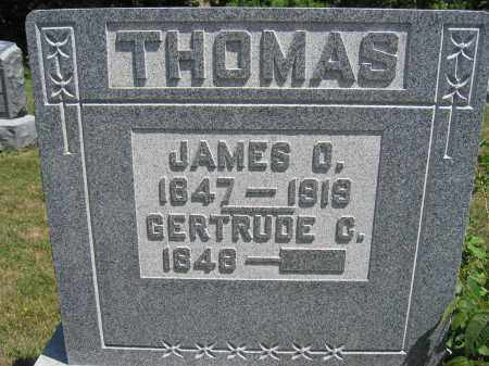 THOMAS, JAMES O. - Union County, Ohio | JAMES O. THOMAS - Ohio Gravestone Photos