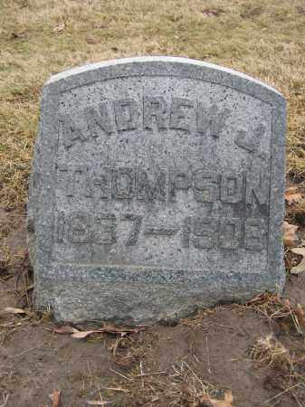THOMPSON, ANDREW J. - Union County, Ohio | ANDREW J. THOMPSON - Ohio Gravestone Photos