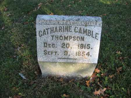 THOMPSON, CATHARINE GAMBLE - Union County, Ohio | CATHARINE GAMBLE THOMPSON - Ohio Gravestone Photos