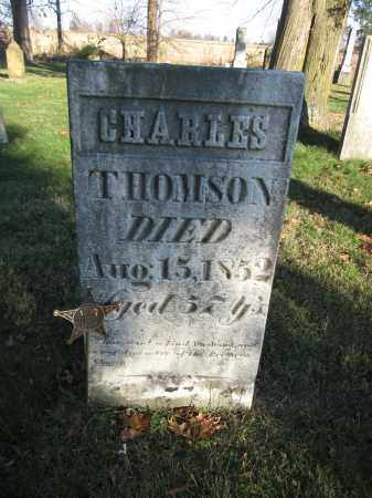 THOMPSON, CHARLES - Union County, Ohio | CHARLES THOMPSON - Ohio Gravestone Photos