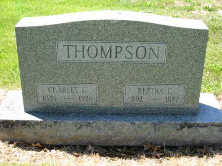 THOMPSON, BERTHA C. - Union County, Ohio | BERTHA C. THOMPSON - Ohio Gravestone Photos