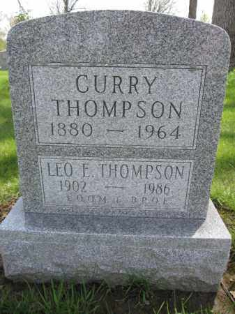 THOMPSON, LEO E. - Union County, Ohio | LEO E. THOMPSON - Ohio Gravestone Photos