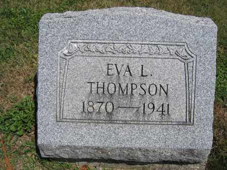 THOMPSON, EVA L. - Union County, Ohio | EVA L. THOMPSON - Ohio Gravestone Photos