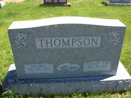 THOMPSON, ESTHER T.M. - Union County, Ohio | ESTHER T.M. THOMPSON - Ohio Gravestone Photos