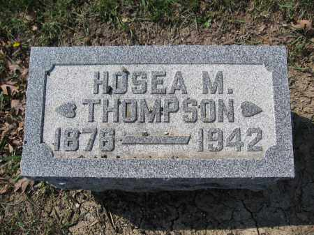 THOMPSON, HOSEA M. - Union County, Ohio | HOSEA M. THOMPSON - Ohio Gravestone Photos