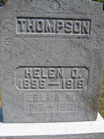 THOMPSON, ZELMA M. - Union County, Ohio | ZELMA M. THOMPSON - Ohio Gravestone Photos