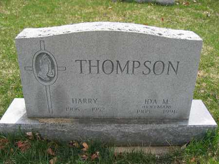 THOMPSON, HARRY - Union County, Ohio | HARRY THOMPSON - Ohio Gravestone Photos
