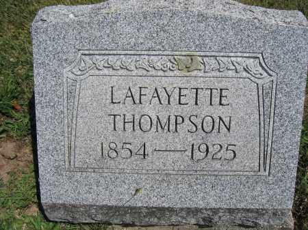 THOMPSON, LAFAYETTE - Union County, Ohio | LAFAYETTE THOMPSON - Ohio Gravestone Photos