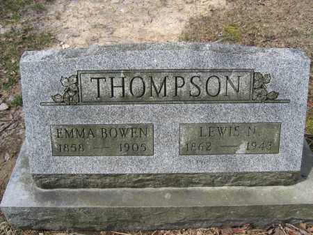 THOMPSON, LEWIS N. - Union County, Ohio | LEWIS N. THOMPSON - Ohio Gravestone Photos