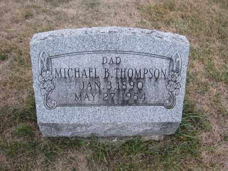 THOMPSON, MICHAEL B. - Union County, Ohio | MICHAEL B. THOMPSON - Ohio Gravestone Photos