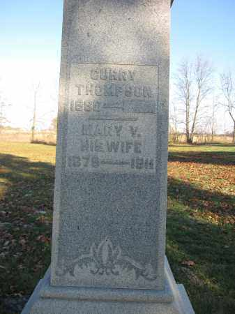 DULIN THOMPSON, MARY VIOLA - Union County, Ohio | MARY VIOLA DULIN THOMPSON - Ohio Gravestone Photos