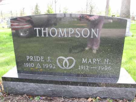 THOMPSON, MARY H. - Union County, Ohio | MARY H. THOMPSON - Ohio Gravestone Photos