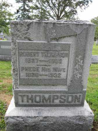 THOMPSON, ROBERT - Union County, Ohio | ROBERT THOMPSON - Ohio Gravestone Photos