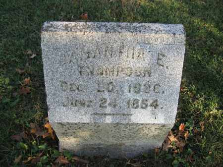 THOMPSON, SAMANTHA - Union County, Ohio | SAMANTHA THOMPSON - Ohio Gravestone Photos