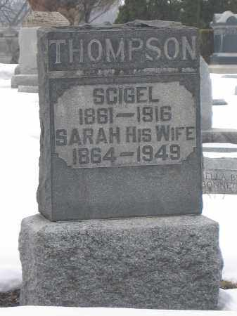 THOMPSON, SARAH - Union County, Ohio | SARAH THOMPSON - Ohio Gravestone Photos