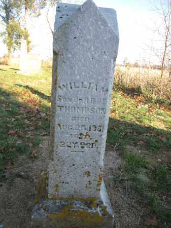THOMPSON, WILLIAM - Union County, Ohio | WILLIAM THOMPSON - Ohio Gravestone Photos