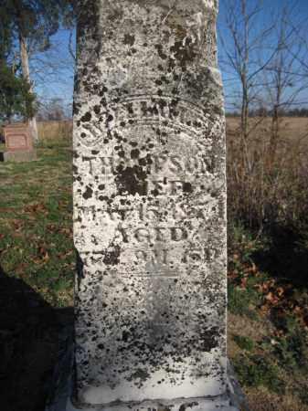THOMPSON, WILLIAM C. - Union County, Ohio   WILLIAM C. THOMPSON - Ohio Gravestone Photos
