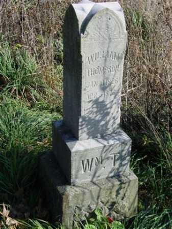 THOMPSON, WILLIAM - Union County, Ohio   WILLIAM THOMPSON - Ohio Gravestone Photos