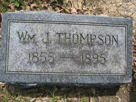 THOMPSON, WILLIAM J. - Union County, Ohio | WILLIAM J. THOMPSON - Ohio Gravestone Photos