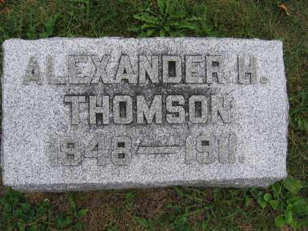 THOMSON, ALEXANDER H. - Union County, Ohio | ALEXANDER H. THOMSON - Ohio Gravestone Photos