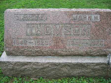 THOMSON, CLARISSA - Union County, Ohio | CLARISSA THOMSON - Ohio Gravestone Photos