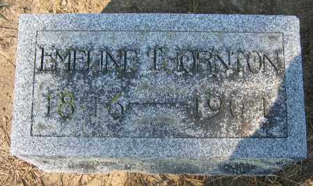THORNTON, EMELINE - Union County, Ohio | EMELINE THORNTON - Ohio Gravestone Photos