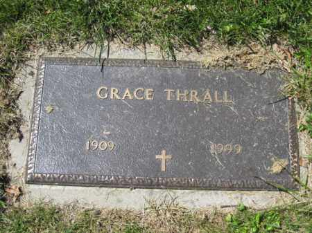 THRALL, GRACE - Union County, Ohio | GRACE THRALL - Ohio Gravestone Photos