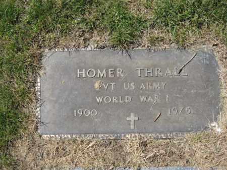THRALL, HOMER - Union County, Ohio | HOMER THRALL - Ohio Gravestone Photos