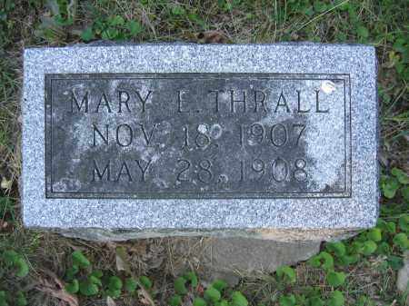 THRALL, MARY E. - Union County, Ohio | MARY E. THRALL - Ohio Gravestone Photos