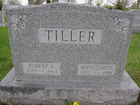 TILLER, ROBERT A. - Union County, Ohio | ROBERT A. TILLER - Ohio Gravestone Photos