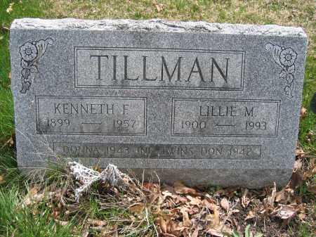 TILLMAN, DON - Union County, Ohio | DON TILLMAN - Ohio Gravestone Photos