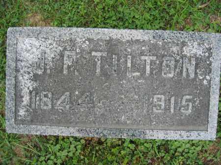 TILTON, J.F. - Union County, Ohio | J.F. TILTON - Ohio Gravestone Photos