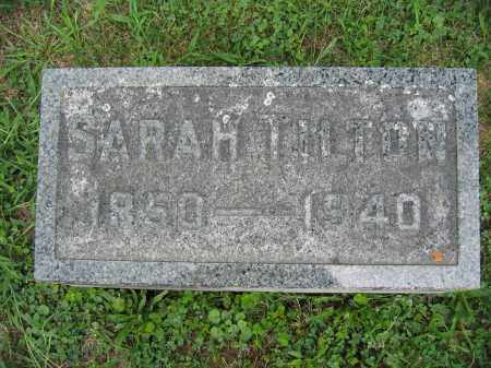 TILTON, SARAH - Union County, Ohio | SARAH TILTON - Ohio Gravestone Photos