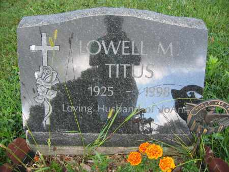 TITUA, LOWELL M. - Union County, Ohio | LOWELL M. TITUA - Ohio Gravestone Photos