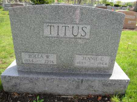 TITUS, JENNIE C. - Union County, Ohio | JENNIE C. TITUS - Ohio Gravestone Photos