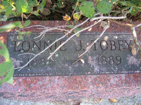 TOBEY, LONNIE J. - Union County, Ohio | LONNIE J. TOBEY - Ohio Gravestone Photos