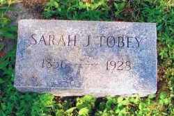 VANCE TOBEY, SARAH J - Union County, Ohio | SARAH J VANCE TOBEY - Ohio Gravestone Photos