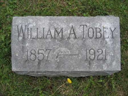 TOBEY, WILLIAM A. - Union County, Ohio | WILLIAM A. TOBEY - Ohio Gravestone Photos